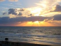 Het strand van Tel Aviv Stock Afbeeldingen