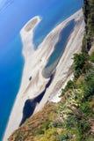 Het strand van Tindari Royalty-vrije Stock Afbeelding