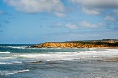 Het strand van Torquay - Australië stock afbeelding