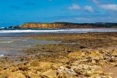 Het strand van Torquay - Australië royalty-vrije stock afbeelding