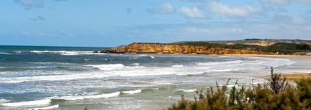Het strand van Torquay - Australië stock foto's