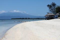 Het Strand van Trawangan van Gili stock foto