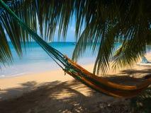 Het strand van Tropica stock afbeelding