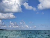Het strand van Tulum - Mexico royalty-vrije stock foto