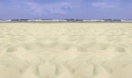 Het strand van Usedom stock afbeeldingen