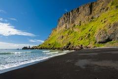 Het strand van Vík Royalty-vrije Stock Afbeelding
