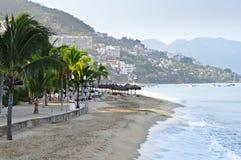 Het strand van Vallarta van Puerto, Mexico Stock Foto's