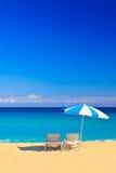 Het strand van Varadero in Cuba stock afbeeldingen