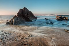 Het strand van Vega Royalty-vrije Stock Afbeeldingen