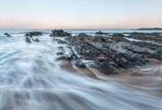 Het strand van Vega Stock Afbeelding