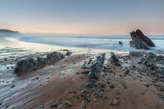 Het strand van Vega Stock Fotografie