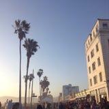 Het Strand van Venetië Stock Fotografie