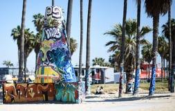 Het Strand van Venetië, CA Stock Fotografie