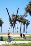 Het strand van Venetië, Californië Royalty-vrije Stock Afbeelding