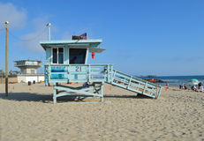 Het strand van Venetië in Los Engelen Royalty-vrije Stock Foto