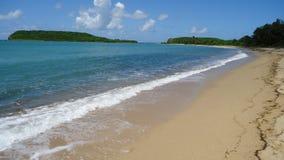 Het Strand van Verde van Isla, San Juan Stock Afbeeldingen