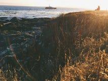 Het strand van Victoria BC Royalty-vrije Stock Afbeelding