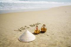Het strand van Vietnam Royalty-vrije Stock Afbeelding