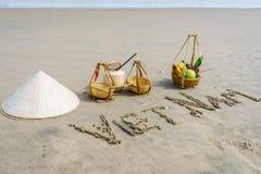 Het strand van Vietnam Royalty-vrije Stock Foto's