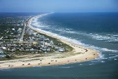 Het Strand van Vilano, Flordia. Royalty-vrije Stock Foto