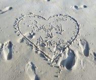 Het strand van voet walton Royalty-vrije Stock Afbeelding