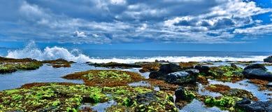 Het Strand van Waianae Stock Foto's