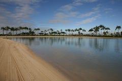 Het Strand van Waikiki, Honolulu, Hawaï Royalty-vrije Stock Fotografie
