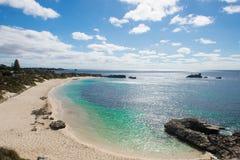 Het strand van Westelijk Australië Perth van het Rottnesteiland Royalty-vrije Stock Fotografie
