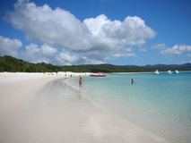 Het strand van Whiteheaven Royalty-vrije Stock Fotografie