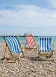 Het strand van Worthing Royalty-vrije Stock Afbeeldingen