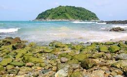 Het strand van Yanui, Phuket Thailand Royalty-vrije Stock Afbeeldingen