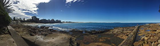 Het strand van zuidencronulla Stock Afbeeldingen