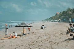 Het Strand Wit Zand van Bali royalty-vrije stock fotografie