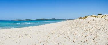 Het strandduinen van Sardinige Royalty-vrije Stock Foto