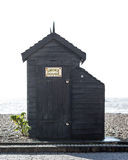 Het Strandhut van het rookhuis Royalty-vrije Stock Foto