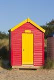 Het strandhut van Southwold Stock Foto's