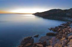 Het strandinham van Praiada luz Stock Foto's