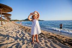 Het Strandkind van de de zomerreis Royalty-vrije Stock Fotografie