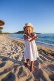 Het Strandkind van de de zomerreis Stock Afbeelding