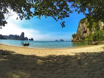 Het strandkrabi Thailand van Railay Stock Afbeelding