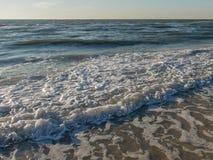 Het Strandkust die van Florida van Oceaan omhoog komen stock foto