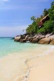 Het strandkust van Thailand van Andaman Royalty-vrije Stock Foto's