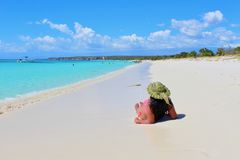 Het strandleven Royalty-vrije Stock Afbeelding