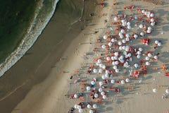 Het strandleven stock afbeeldingen