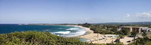 Het strandnoorden van Puerto Rico stock afbeeldingen
