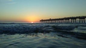 Het Strandpijler van Jacksonville stock foto