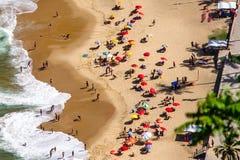 Het strandRio de Janeiro van Urca Royalty-vrije Stock Afbeeldingen