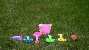 Het strandspeelgoed van kinderen Royalty-vrije Stock Fotografie
