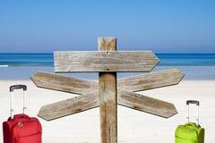 Het Strandteken stock foto