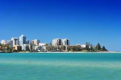 Het strandtoevlucht van Caloundrara Stock Fotografie
